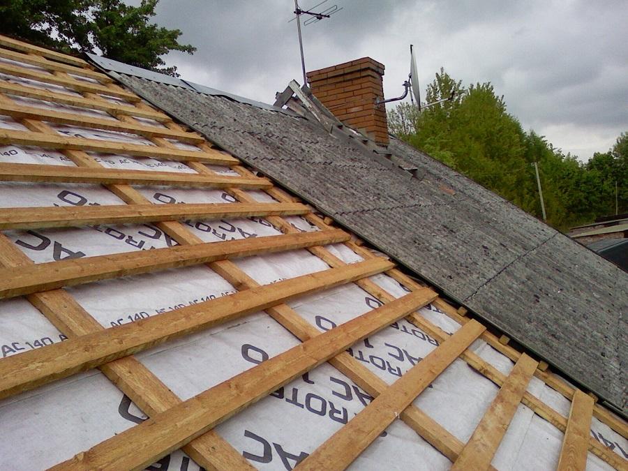 Ремонт кровли крыши частного дома своими руками